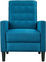 Modern Fabric Recliner Chair Adjustable Sofa