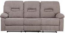 Modern Fabric Recliner Sofa Manual Reclining