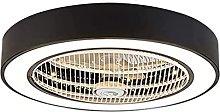 Modern Fan Ceiling Light Remote Control Silent