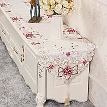 Modern Fashion Exquisite Lace Solid Color Table