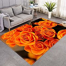Modern Fashion Picture Printed Carpet, Area Rug -