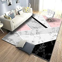 Modern Fashion Style Parlor Area Rugs Soft Flannel