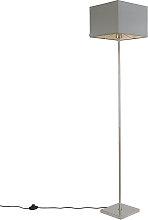 Modern floor lamp gray - VT 1