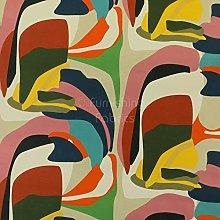 Modern Full Colourful Artistic Pattern Velour