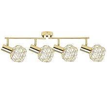 Modern Geometric Ceiling Lamp Track Lighting Metal