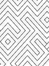Modern Geometric, Peel and Stick Wallpaper, Vinyl