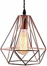 Modern Geometric Style Lampshade Copper Metal
