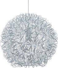Modern Glam Pendant Ceiling Lamp Light Silver Malas