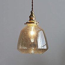 Modern Glass Pendant Light Industrial Seed Glass