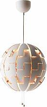Modern Globe Pendant Light Nordic Style Metal