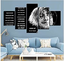 Modern HD Print Wall Art Canvas Pictures 5 Pieces