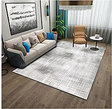 Modern High-end Nordic Carpet Gray and White