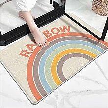 Modern Home Bathroom Absorbent Non-Slip Floor Mats