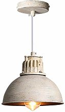 Modern Industrial Style Hanging Light Dome Metal