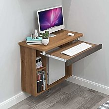 Modern Industrial Wall Mounted Desk With Open