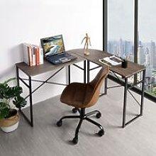 Modern L-Shaped Desk Corner Computer Desk PC Latop