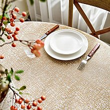 Modern Lace Tablecloth,Round Table Cover,Chenille