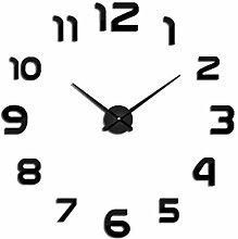 Modern Large Wall Clock DIY 3D Quartz Clock