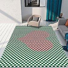 Modern Lattice Geometric Printing Carpet Thick