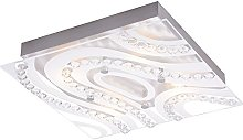 Modern LED Bathroom Light with Clear/Frosted Glass