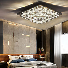 Modern LED Ceiling Light Crystal Chandelier Lamp,