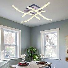 Modern LED Ceiling Light Curved Modern Creative