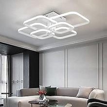 Modern Led Ceiling Lights,6 White Squares Lighting
