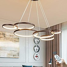 Modern LED Chandelier Dimmable with Remote Control