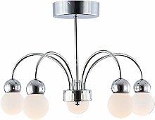 Modern LED Living Room Pendant Light 21W Warm