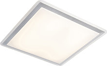 Modern LED panel steel incl. LED and dimmer - Lab