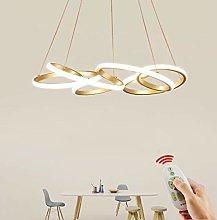 Modern LED Pendant Lamp Golden Restaurant