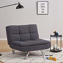 Modern Linen Fabric 1 Seater Sofa Chair Padded
