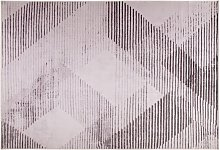 Modern Living Room Area Rug 140 x 200 cm Polyester