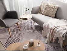 Modern Living Room Area Rug 160 x 230 cm Polyester