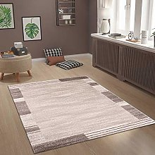 Modern Living Room Bedroom Rug with Abstract