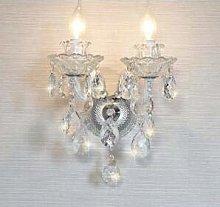 Modern Luxury LED Crystal Chandelier Ceiling