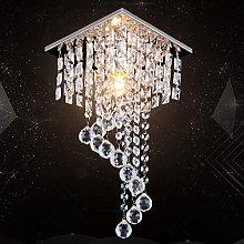 Modern Mini Crystal Chandelier Raindrop Crystal
