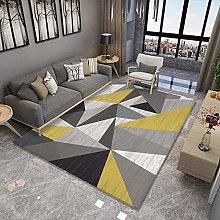 Modern Minimalist Carpet, Non-Slip Thick Polyester
