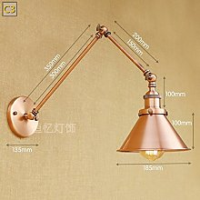 Modern Minimalist Rustic Wall Lamp for