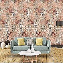Modern Minimalist Tree Ring Sofa TV Art Wall