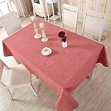 Modern Minimalist Yarn-Dyed Cotton Linen Plain