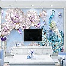 Modern Mural Wallpaper for Living Room Fresh