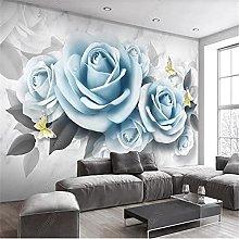 Modern Mural Wallpaper for Living Room Simple