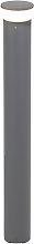 Modern outdoor lamp post dark gray 80 cm incl. LED
