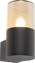 Modern outdoor lamp wall black - Odense