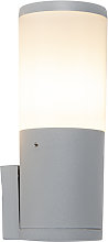 Modern outdoor wall lamp gray IP55 incl. LED -