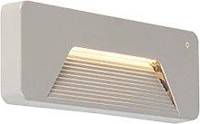 Modern outdoor wall light rectangle incl. LED - Pod