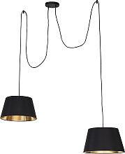 Modern Pendant Lamp 2 Black - Lofty
