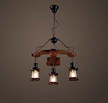 Modern Pendant Light 3-Light Farmhouse Distressed