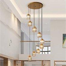 Modern Pendant Light K9 Crystal Shade Chandelier